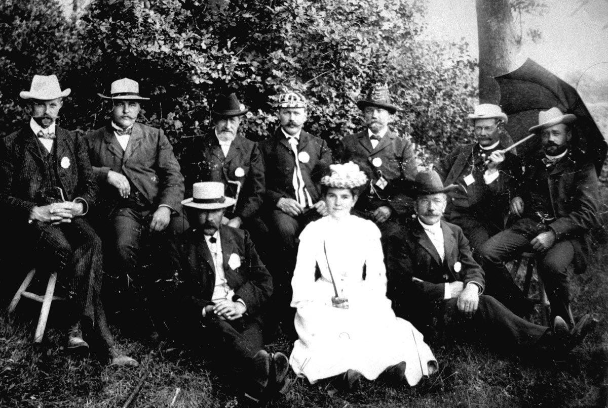Der Vorstand 1910