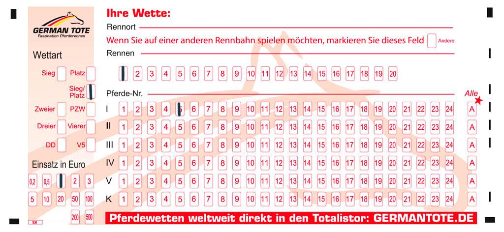 Wettschein von Wettstar (Sieg/Platz-Wette)